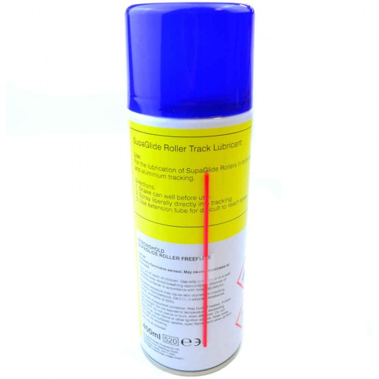 SupaGlide Roller 'Freeflow' Track Lubricant by Stronghold