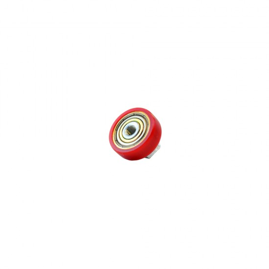 Single Red Wheel Bearing (with nut) KUBUS - Versus Omega (132-01001)