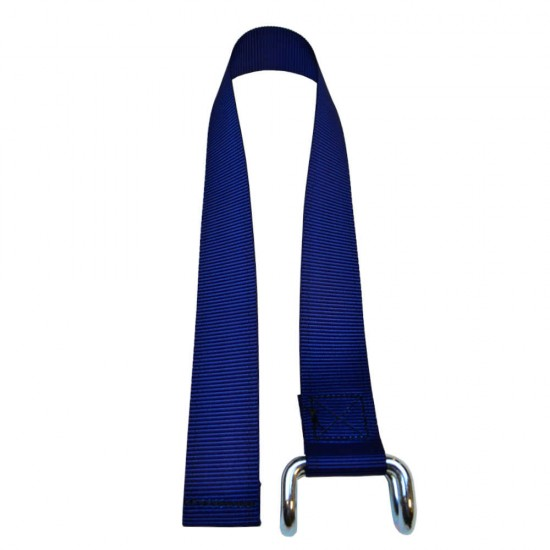 Dark Blue Lower Strap For Curtain Side Buckles