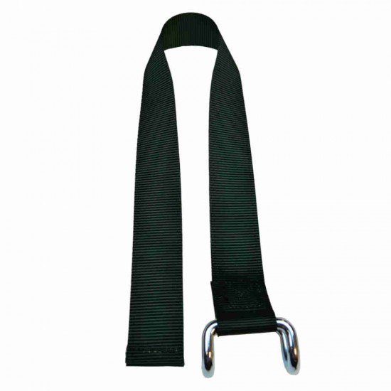 Dark Green Lower Strap For Curtain Side Buckles