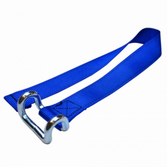 Light Blue Lower Strap For Curtain Side Buckles