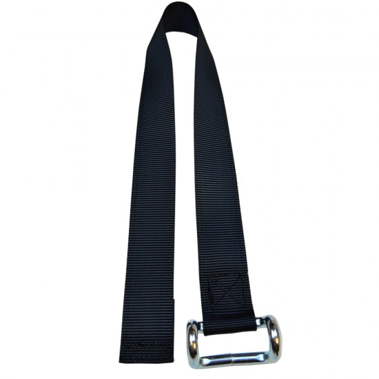 Lower Strap - To fit SC46NS Buckles (Black)