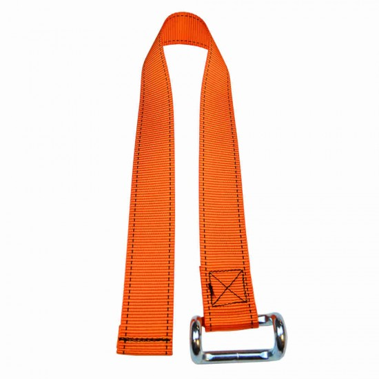 Orange Lower Strap For Curtain Side Buckles