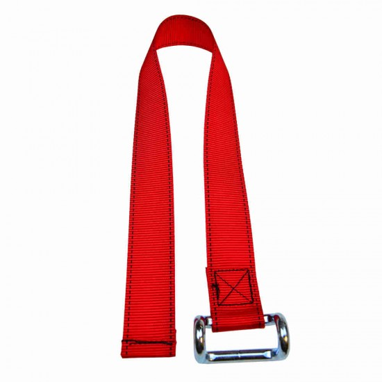 Red Lower Strap For Curtain Side Buckles