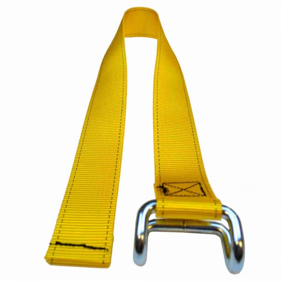 Yellow Lower Strap For Curtain Buckles