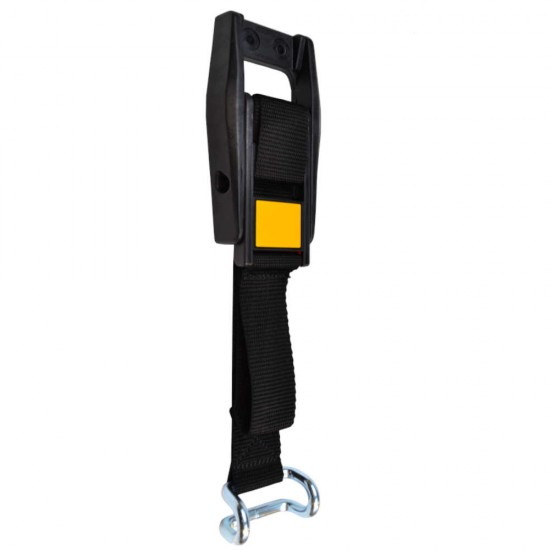 EUROBUCKLE Yellow Reflective Locking Curtain Side Buckle