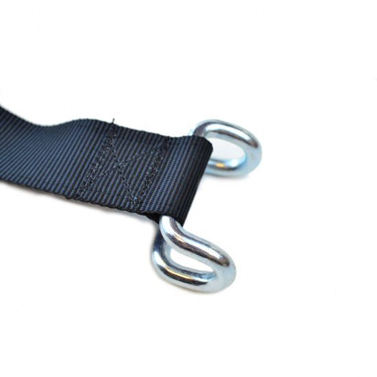 Stainless Steel Non Slip Locking Curtain Side Buckle