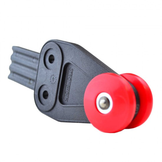 Stronghold Red Curtain Roller with Tab W29mm/D36mm