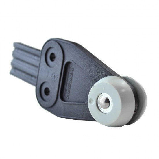Stronghold Grey Curtain Roller with Tab W29mm/D33mm