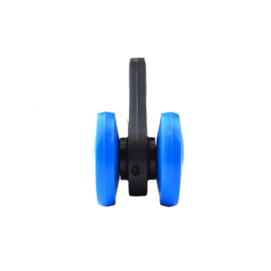 Stronghold Blue Curtain Roller with Tab W33mm/D36mm
