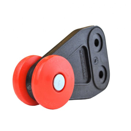 Stronghold Red Curtain Roller W29mm/D36mm